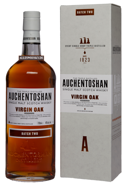Auchentoshan Virgin Oak Batch Two 46% 0,7L