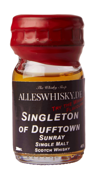 Singleton of Dufftown Sunray 40% 0,03L