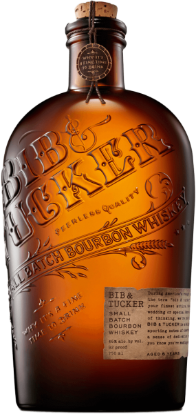 Bib & Tucker Small Batch Bourbon 46% 0,7L