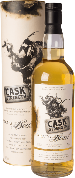 Peat´s Beast Cask Strength Whisky 52,1% 0,7L