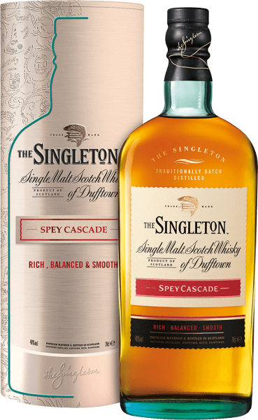 The Singleton of Dufftown Spey Cascade Whisky 43% 0,7L in Metalldose