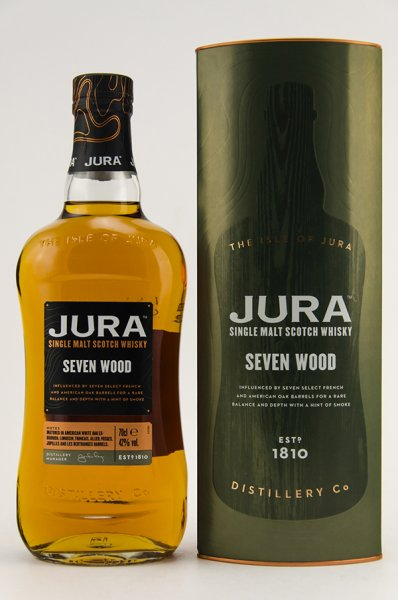 Jura Seven Wood Whisky 42% 0,7L Shop