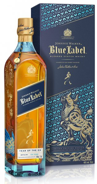 Johnnie Walker Blue Label Year of the Ox Whisky 40% 0,7L