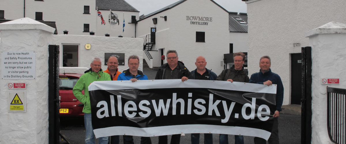 Bowmore Distillery Banner alleswhisky 2013