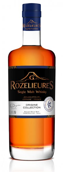 "Rozelieures Single Malt Whisky ""Origine Collection"" Whisky 40% 0,7L"