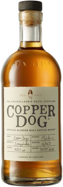 Copper Dog Speyside Blended Scotch Whisky 40%