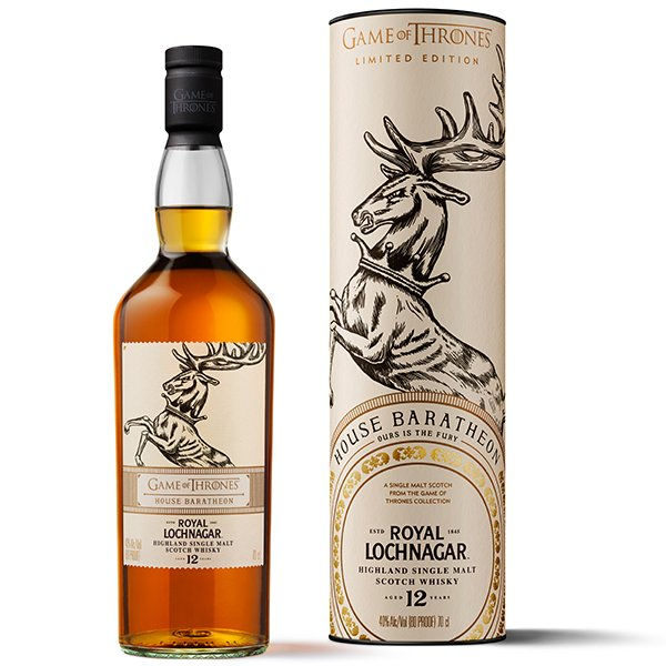 Royal Lochnagar GoT 12 Jahre House Baratheon Whisky 40% 0,7L Shop1