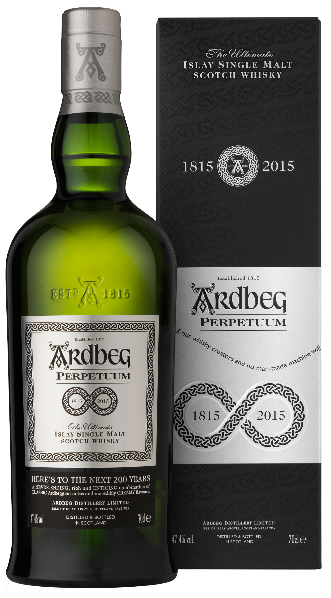 ardbeg perpetuum 200 jahre limited single malt whisky 47 4 aus schottland online g nstig kaufen. Black Bedroom Furniture Sets. Home Design Ideas