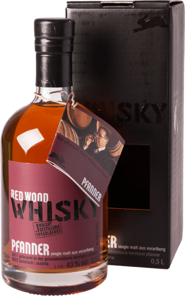 Pfanner Red Wood Whisky 43%