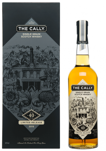 The Cally 40 Jahre Limited Release 2015 Whisky 53,3%