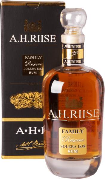 A.H. Riise Family Reserve Solera 1838 25 Jahre Rum 42%