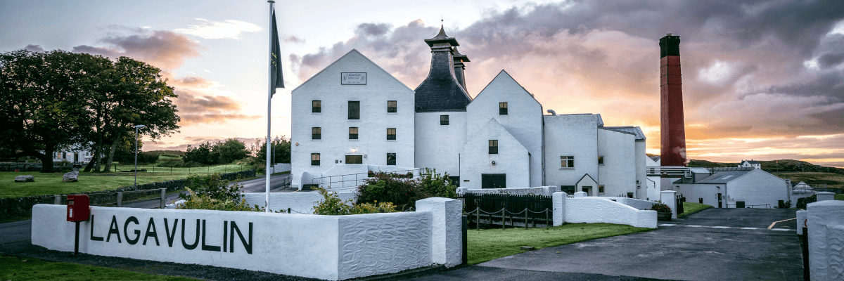 Lagavulin Distillery Isle of Islay