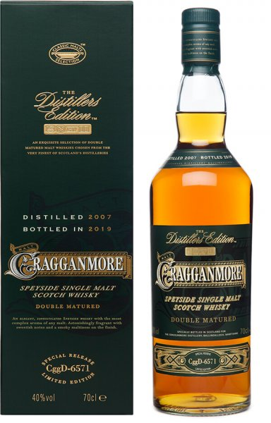 Cragganmore Distillers Edition 2007 2019 Whisky 40 Prozent