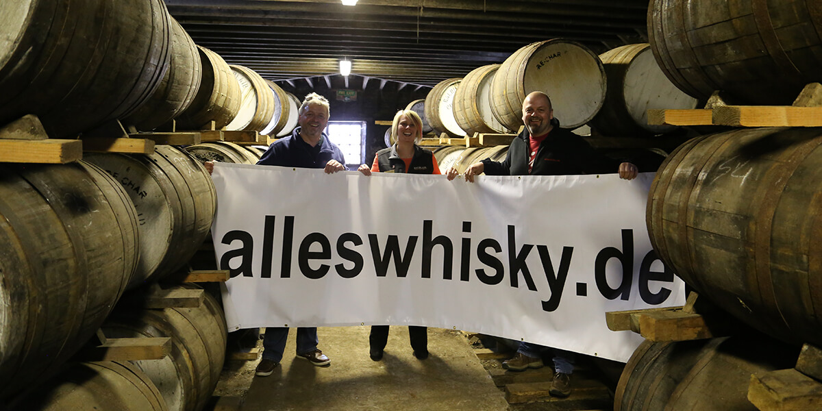 Balblair Distillery Highland Scotch Malt Whisky Angel Share Warehouse alleswhisky Banner 2015