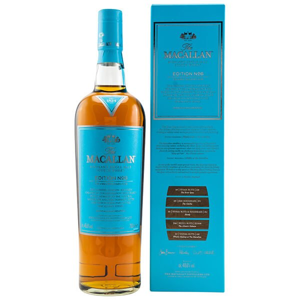 Macallan Edition No. 6 Whisky 48.6% 0,7L Front