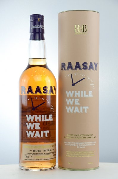 Raasay While We Wait 3rd Release Whisky 46% 0,7L