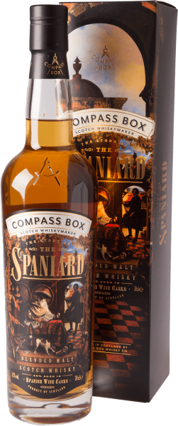Compass Box - Story of Spaniard Whisky 43% 0,7L