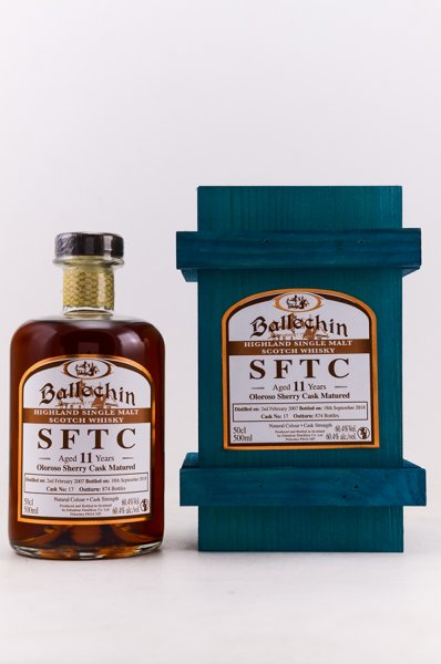 Ballechin 2007/2018 Straight from the Sherry Cask Nr.17 Whisky 60,4% 0,5L Shop