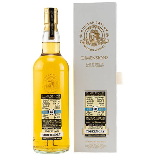 Tobermory 11 Jahre 2008/2020 Cask 1626646 Octave Whisky 54,2% (Duncan Taylor)