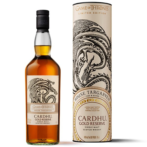 Cardhu GoT Gold Reserve House Targaryen 40% 0,7L Shop1