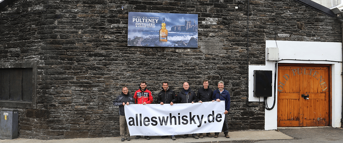 Pulteney Malt Whisky Brennerei Highlands Tour 2015 alleswhisky Banner