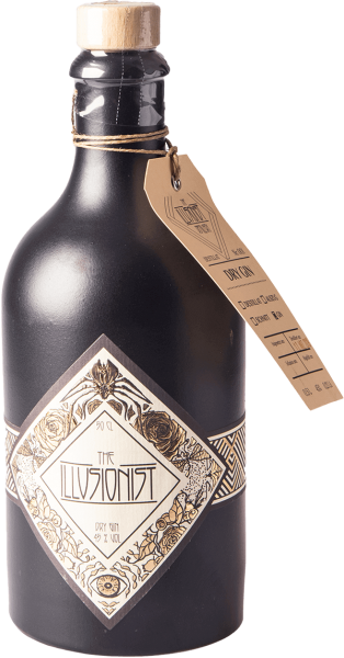 The Illusionist Dry Gin schwarze Tonflasche