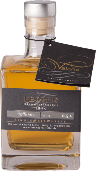 feller valerie single malt whisky 40 05l deutschland kaufen
