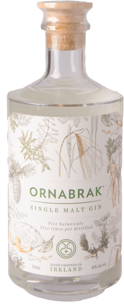 Ornabrak Irish Single Malt Gin 47% 0,7L