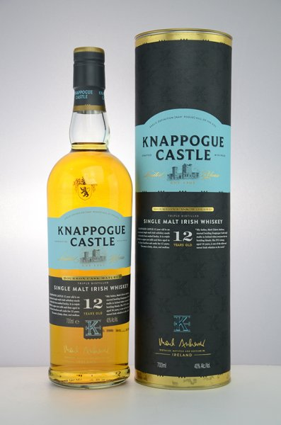 Knappogue 12 Jahre Single Malt Irish Whiskey 40% 0,7L