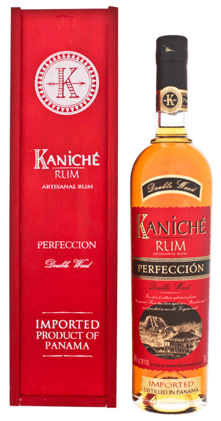 Kaniché Perfeccion Double Wood Rum 40% 0,7L