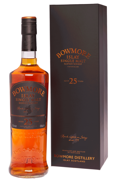 Bowmore 25 Jahre Small Batch Release 43%