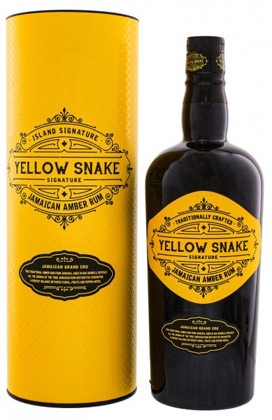 Yellow Snake by Odevie Island Signature Jamaican Amber Rum 40% 0,7L