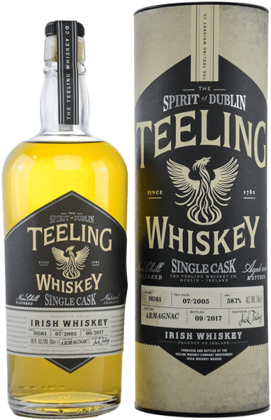Teeling 2005 Single Cask Armagnac Irish Whiskey 58,7 Prozent