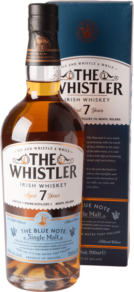 Boann The Whistler 7 Jahre The Blue Note Whiskey 46% 0,7L