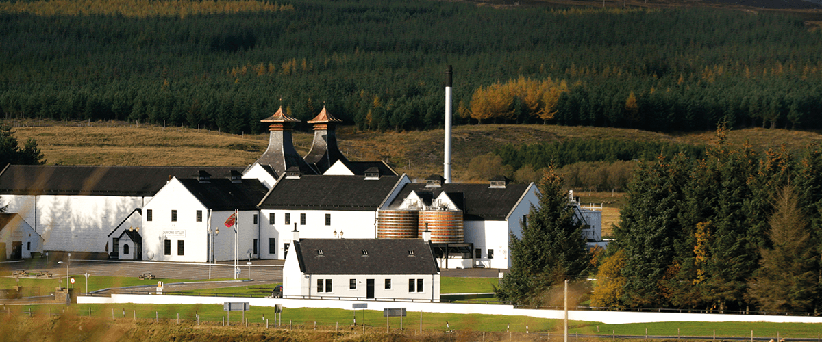 Dalwhinnie Distillery Highland Scotch Whisky Buildings