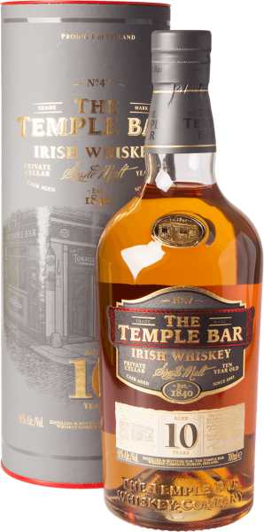 The Temple Bar 10 Jahre Irish Single Malt Whiskey 40%
