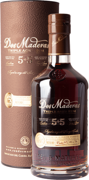 Dos Maderas PX 5+5 Triple Aged Rum 40% 0,7L