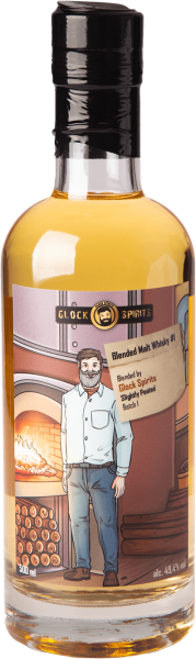 GLOCK SPIRITS Blended Malt Whisky #1 Slightly Peated 49,4 Prozent