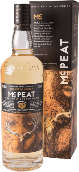 House of McCallum - Mc Peat Barrels Whisky 43,5% 0,7L