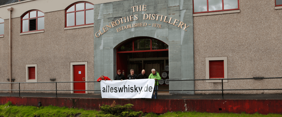 Glenrothes Distillery Speyside Scotch Whisky alleswhisky Banner 2014