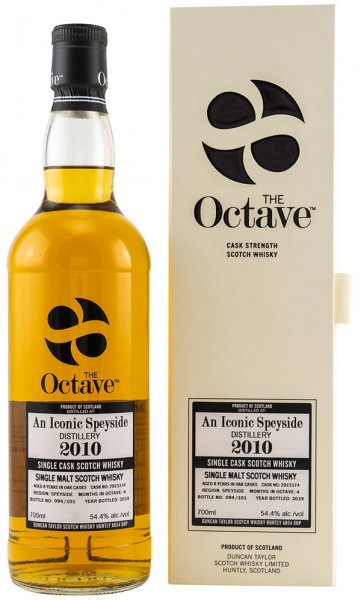 An Iconic Speyside Whisky 2010/2019 8 Jahre The Octave 54,4%
