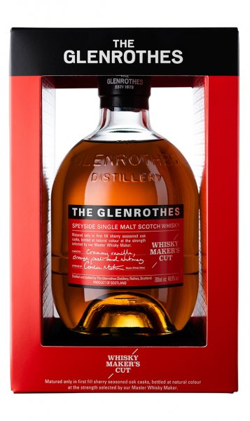 Glenrothes Whisky Maker´s Cut 48,8% 0,7L Box