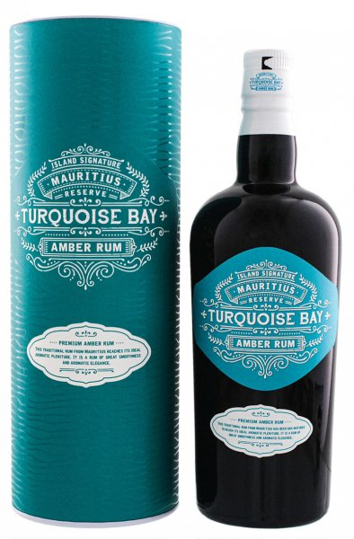 Turquoise Bay by Odevie Island Signature Mauritius Amber Rum 40% 0,7L