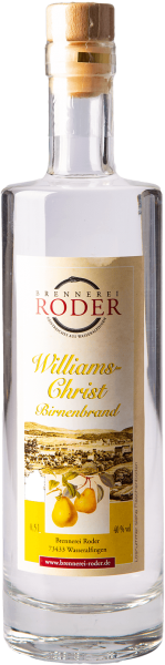 Roder Williams-Christ Birnenbrand 40%