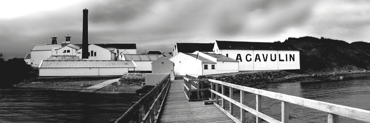 Lagavulin Distillery Black & White