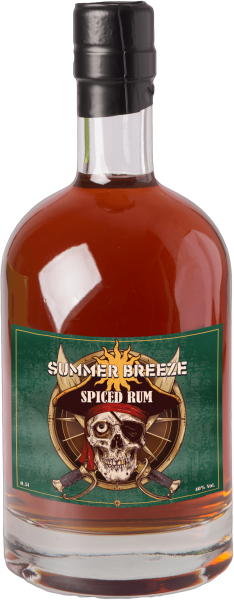 Summer Breeze 2017 GLOCK SPIRITS Spiced Rum 40%