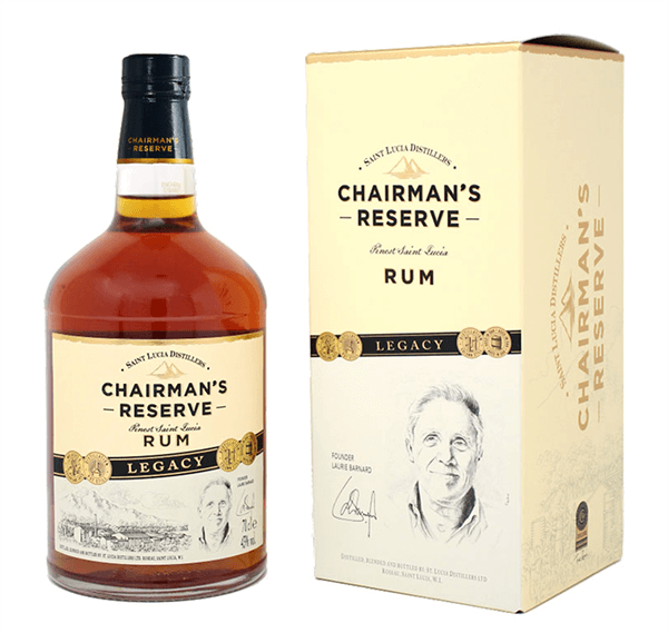 St. Lucia Chairman`s Reserve Legacy Rum 43%