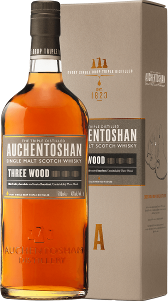 Auchentoshan Three Wood 43% 0,7L