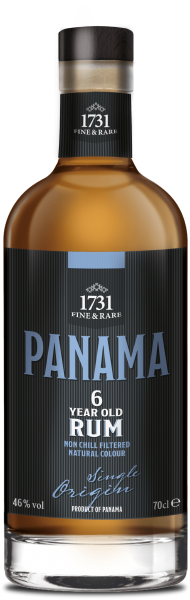 1731 6 Jahre Panama Single Origin Rum 46% 0,7L