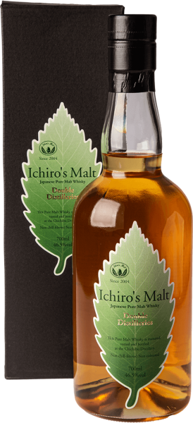 Chichibu Ichiro´s Malt Double Distilleries Pure Malt Whisky 46,5 Prozent Shop